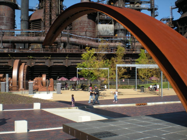 21st Century Town Square/Steel Stacks