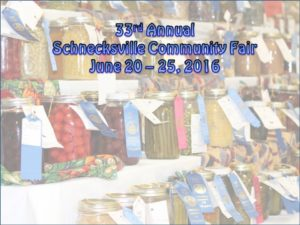 33rd Annual Schnecksville Community Fair