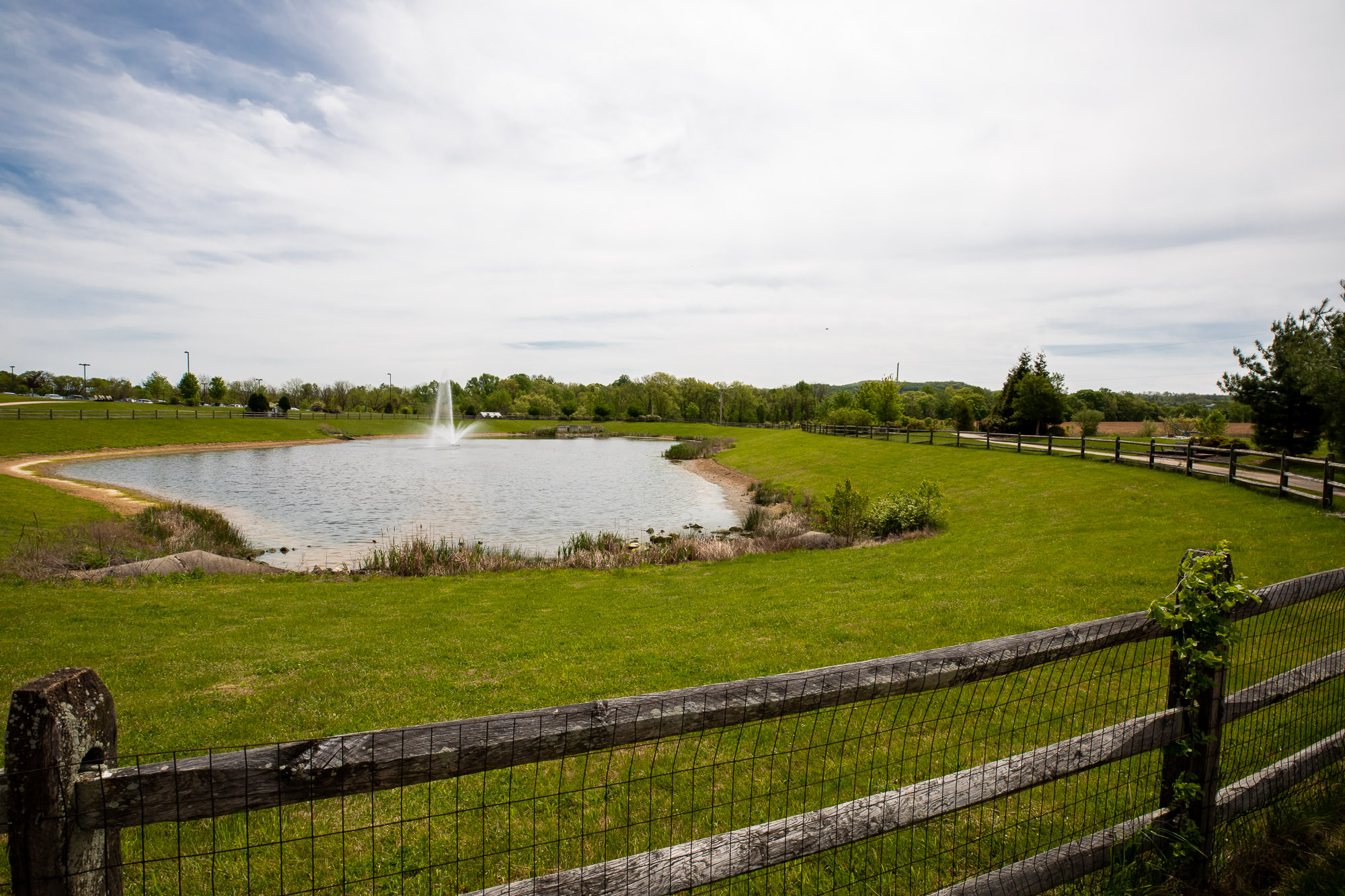 St. Lukes Spray Irrigation