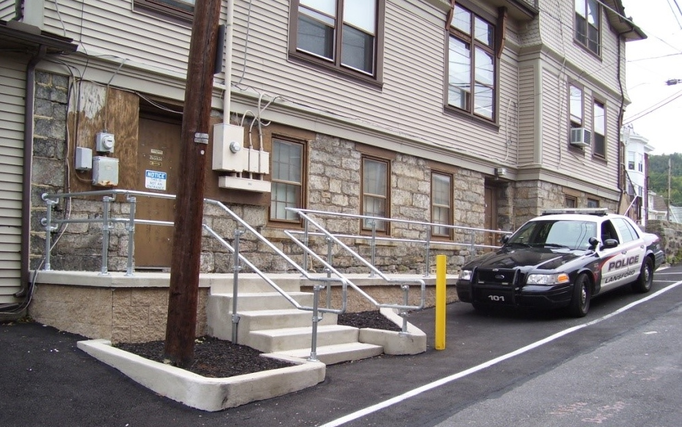 Police Building ADA Access Ramp