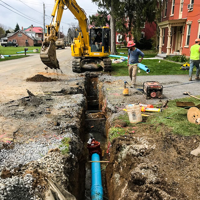 Village of Bowers Water Main Replacement Project