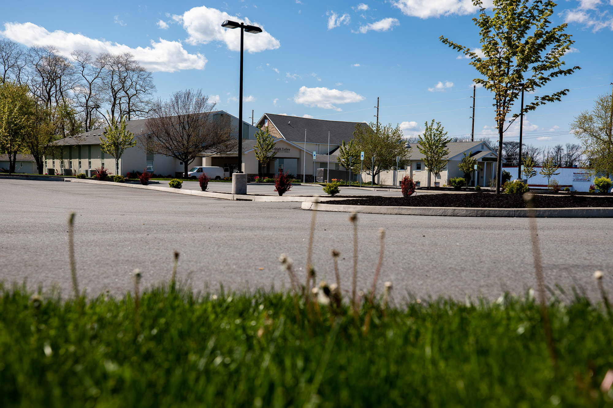 Lehigh Valley Baptist Church Parking