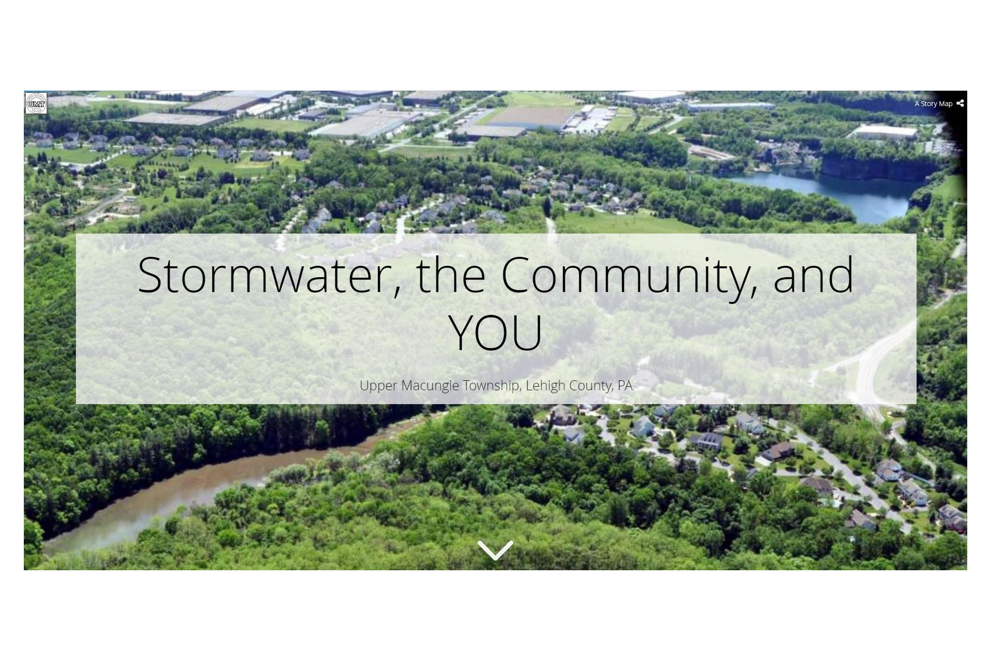 Story Map: Stormwater, the Community and YOU